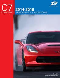zip corvette catalog request your free c7 catalog from zip corvetteforum chevrolet