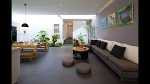 Living Area by A Fresh Home With Open Living Area Internal Courtyard Youtube
