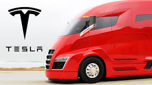 electric company truck tesla unveils its all electric semi truck capital business