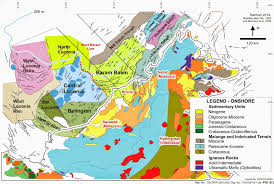 Brunei Map Seismic Atlas Of Se Asian Basins Baram U0026 Sabah Basin