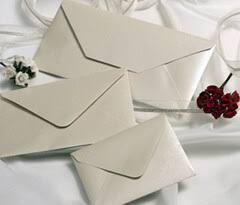 Wedding Envelopes Envelopes Coloured Square Wedding Pearlescent