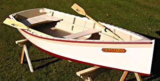 bevins skiff photo http www woodenboat com build boat