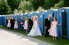 wedding porta potty how many wedding porta potties will you need on your big day