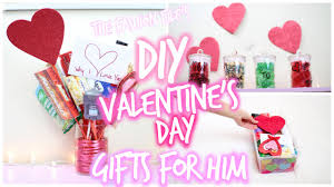 Valentine S Day Homemade Gift Ideas by Diy Valentine U0027s Day Gifts For Him Youtube