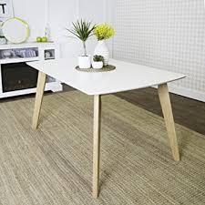 Retro Modern Desk We Furniture 60 Retro Modern Dining Table White