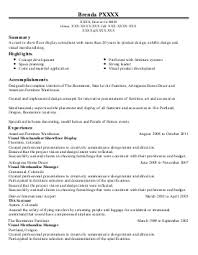kitchen design resume samples