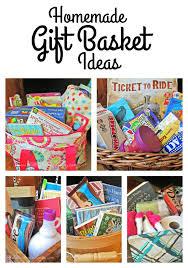 homemade gift basket ideas merry christmas