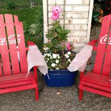 Coca Cola Chairs Find More Coca Cola Pallet Adirondack Chairs For Sale At Up To 90 Off