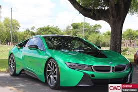 bmw i8 gold bmw i8 gloss envy green wrap