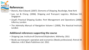 dsm 2315 shipping and transport logistics management ppt video