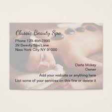 Beauty Spa Business Cards Medical Spa Business Cards U0026 Templates Zazzle