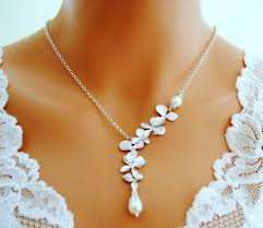 silver necklace with pearls images Go girlies ultimate stop for all your girly stuff necklaces jpg