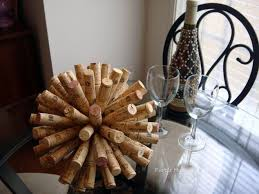 Accent Table Decor Cork Ball Accent Table Decor Hometalk