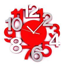 horloge pour cuisine moderne pendule cuisine moderne pendule silencieuse 3d pendule pour