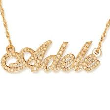 gold name necklaces gold name necklaces name necklaces personalized