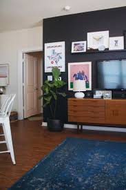 Black Feature Wall In Bedroom 168 Best Home Black Walls Images On Pinterest Black Walls