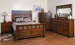 Dresser Desk Combination Furniture Dresser And Mirror Combination By Sunny Designs Wolf And