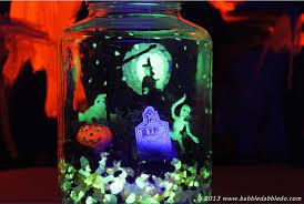 Halloween Crafts Glow in the Dark Terrorarium