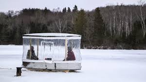 fish house floor plans portable fish house design plans by mn sportsmans ice floor modern