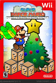 mario wrapping paper paper mario christmas 2011 special edition wii box