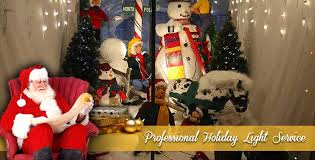 distinctive holiday displays christmas lights installers