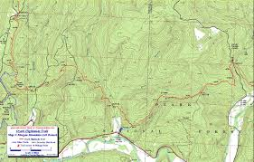 Map Of Arkansas State Parks by Ozark Highlands Trail Maps Ozark Mountains Arkansas Free