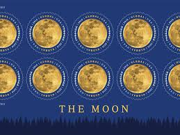 What Side Do Stamps Go On by A U0027snow Moon U0027 Is The New Usps Global Forever Stamp Business Insider