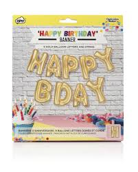 Happy Birthday Halloween Banner by Celebration Nation Foil Banner Balloons