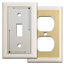 light almond switch plate covers classic lines switch plate covers in light almond kyle design