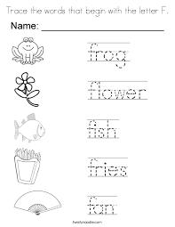 letter f coloring pages twisty noodle