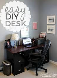 Diy Easy Desk Diy Easy Desk Project Eieihome