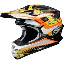monster helmet motocross shoei vfx w turmoil motocross helmet mx off road racing
