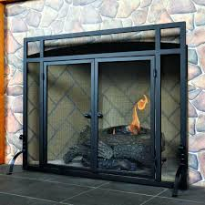 pleasant hearth glass fireplace door black fireplace screen glass doors iron bifold suzannawinter com