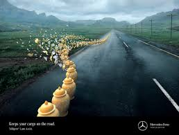 mercedes ads 2016 mercedes print advert by joe public disaster averted 3 ads of