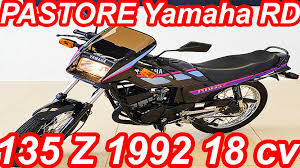 pastore 1992 yamaha rd 135 z 18 hp youtube