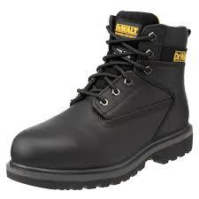 dewalt black dewalt maxi men u0027s safety boots black 10 uk shoes