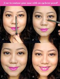 How To Do Eyebrow How To Contour The Nose With An Eyebrow Pencil U2014 Project Vanity