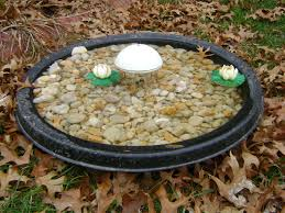 solar powered water wiggler for bird bath