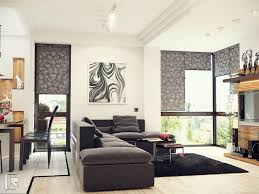 easy living room ideas with black and white combo luck interior