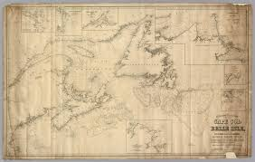 chart from cape cod to belle isle david rumsey historical map