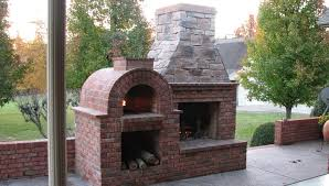 interior outdoor fireplace and pizza oven decorative bathroom
