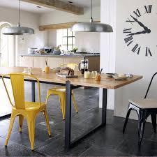 la redoute table de cuisine table am pm la redoute table chaises jaunes et deco de table