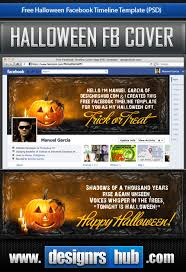 free facebook timeline template happy halloween by