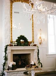 Elegant Christmas Mantel Decor by Enchanting Woodland Wedding Shoot With Rustic Winter Details Hey