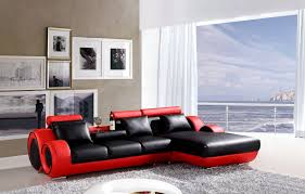 red leather sofa l shape centerfieldbar com