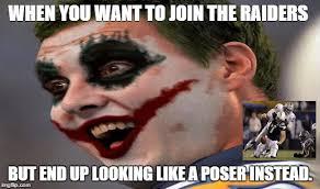 Chargers Raiders Meme - raiders imgflip