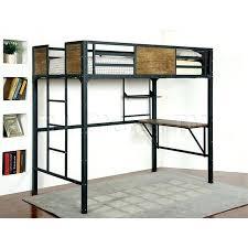 Black Bunk Bed With Desk Black Bunk Beds With Desk Loft Bed 8 Workstation 1