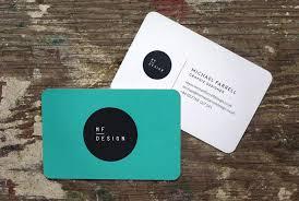 mf design mf design business card michael farrell design