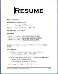 format for resume format for resume f resume