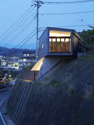 Steep Site House Plans Striking Ms House Ingeniously Adapted To A Sloping Site In Mishima